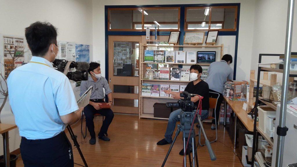 2020年9月9日(水)NHK鳥取放送局いろ★ドリに高林が登場