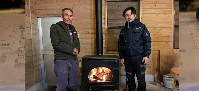 鳥取ストーブ薪ストーブのお客様事例ブログを更新しました!